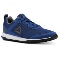 Reebok CXT TR Training Shoes Mens Bunker Blue/Alloy/White/Silver/Black CN2666