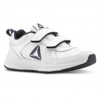 Reebok ALMOTIO 4.0 Running Shoes Kids White/Col Navy/Pewter CN4220