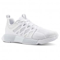 Reebok Fusion Flexweave Cage Running Shoes Womens White/Spirit White CN4712