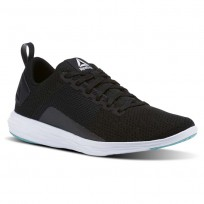 Reebok Astroride Walking Shoes Womens Black/Turquoise/White CN0854