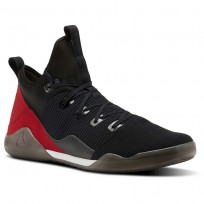 Reebok Combat Noble Tactical Shoes Mens Black/White/Vitamin C BS6179