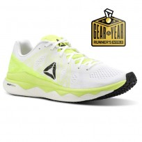 Reebok Floatride Run Running Shoes Womens Solar Yellow/White/Black CN4672