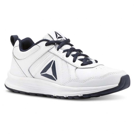 Reebok ALMOTIO 4.0 Running Shoes Kids White/Col Navy/Pewter CN4218