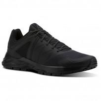 Reebok Astroride Trail Walking Shoes Mens Black/Ash Grey/Primal Red CN2315