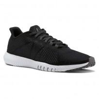 Reebok Flexagon Training Shoes Mens Black/White/Shark/Coal CN2583