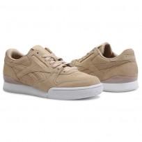 Reebok Phase 1 Pro Shoes Womens Clean-Sahara/White CN5471