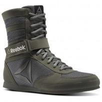 Reebok Boxing Tactical Shoes Mens Green/Iron Stone/Black BS8266