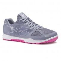 Reebok CrossFit Nano Shoes Womens Purple Fog/White/Acid Pink CN7124