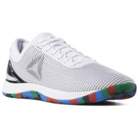 Reebok CrossFit Nano Shoes Mens White/Pure Silver CN8065
