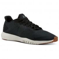 Reebok Flexagon Training Shoes Mens Chalk Green/Black/Chalk/Gum CN2591