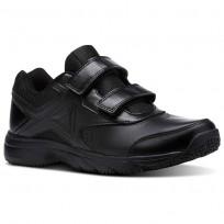 Reebok Walk Walking Shoes Womens Black/Black BS9532