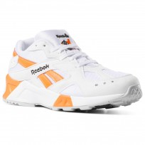 Reebok Aztrek Shoes Mens Enh-White/Black/Solar Orange CN7472