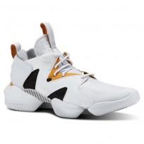 Reebok 3D OP. Shoes Mens Legacy-Spirit White/Opus Gold/Blk CN5242