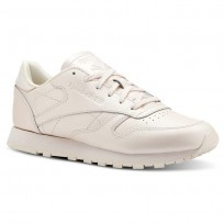 Reebok Classic Leather Shoes Womens Mid-Pale Pink CN5467