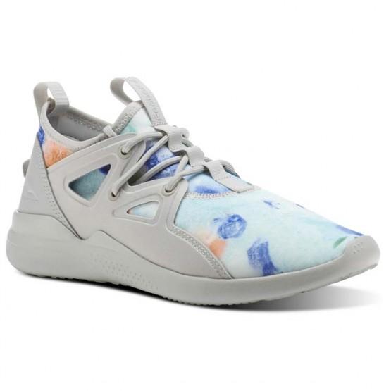 Reebok Cardio Motion Studio Shoes Womens Grey/White/Skull Grey CN1439