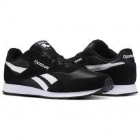 Reebok Royal Ultra Shoes Mens Black/White BS7966