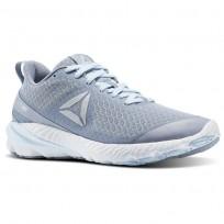Reebok OSR Running Shoes Womens Meteor Grey/Fresh Blue/White/Pewter BS8530