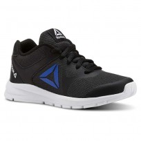 Reebok Rush Runner Running Shoes Boys Black/Vital Blue CN5325
