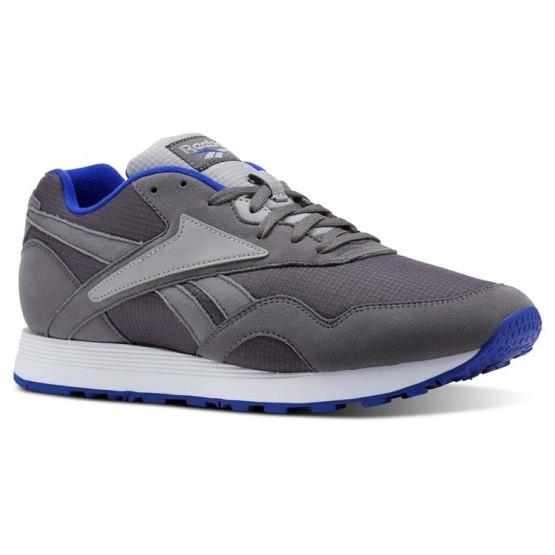 Reebok Rapide MU Shoes Mens Shark/Tin Grey/Blue Move/White CN5917