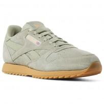 Reebok Classic Leather Shoes Kids Manilla Light/Gum CN5170