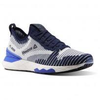 Reebok Floatride 6000 Lifestyle Shoes Mens Collegiate Navy/Acid Blue/White CN2232