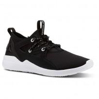 Reebok Cardio Motion Studio Shoes Womens Black/White/Silver Met CN4866