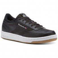 Reebok Club C 85 Shoes Kids Coal/White/Washed Blue CN1199