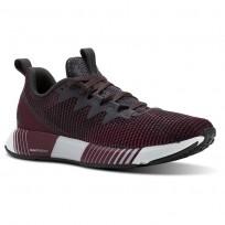 Reebok Fusion Flexweave Running Shoes Womens Smky Vlcano/Twstd Berry/Rustic Wine/Coal/Wht CN2857