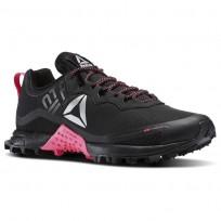 Reebok All Terrain Running Shoes Womens Black/Solar Pink/Silver BS8650