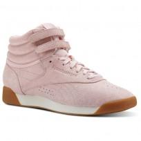 Chaussure Reebok Freestyle HI Femme Rose CN3822