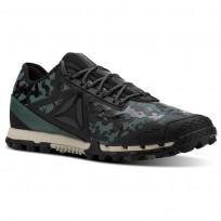 Reebok AT SUPER 3.0 Running Shoes Mens Camo-Black/Alloy/Chalk Green/Parchment CN2904