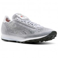 Reebok Aztec Shoes Mens White/Cloud Grey/Black/Pewter BD1924