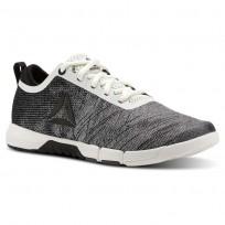 Reebok Speed Training Shoes Womens Chalk/Black/Ash Grey CN4860