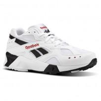 Reebok Aztrek Shoes Mens Bw-White/Black/Excellent Red CN7187