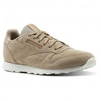 Reebok Classic Leather Shoes Kids Beige/Duck Season/Chalk CN0000
