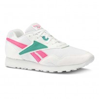 Reebok Rapide MU Shoes Mens We-White/Totally Teal/Acid Pink DV4603