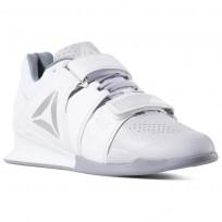 Reebok Legacy Lifter Shoes Womens White/Cold Grey/Silver DV4397