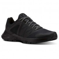 Reebok Astroride Trail Walking Shoes Womens Black/Tin Grey CN4580