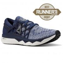 Reebok Floatride Run Running Shoes Mens Collegiate Navy/Washed Blue/Cloud Grey CM9056