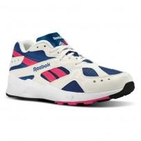 Reebok Aztrek Shoes Mens Og-Chalk/Collegiate Royal/Bright Rose/White CN7068