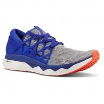 Reebok Floatride Run Running Shoes Mens White/Blue Move/Atomic Red CN5237
