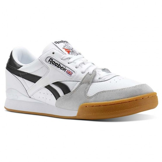 Reebok Phase 1 Pro Shoes Mens Gum-White/Black/Snowy Grey CN3401