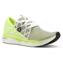 Reebok Floatride Run Running Shoes Womens Solar Yellow/Black CN5241