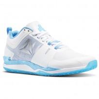 Reebok JJ One Training Shoes Mens White/Black/Blue Beam/Silver BD4883