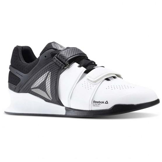 Reebok Legacy Lifter Shoes Mens White/Black/Pewter BD1793