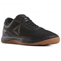 Reebok CrossFit Nano Shoes Mens Black/Reebok Rubber Gum/White CN8066