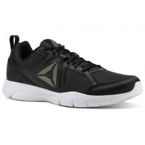 Reebok 3D FUSION TR Training Shoes Mens Black/White/Pewter CN4118
