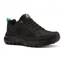 Reebok DMX Rode Comfort Running Shoes Womens Black/Cloud Grey/Turquoise BS9607
