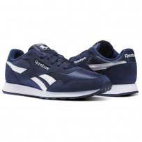 Reebok Royal Ultra Shoes Mens Collegiate Navy/White BS7967