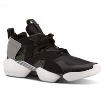 Reebok 3D OP. Shoes Mens Legacy-Black/Chalk Green/Foggy Grey/White CN3911